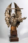 Guardian Angel of God sculpture